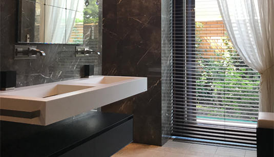 Bromley Marble Bathroom Design Fitting