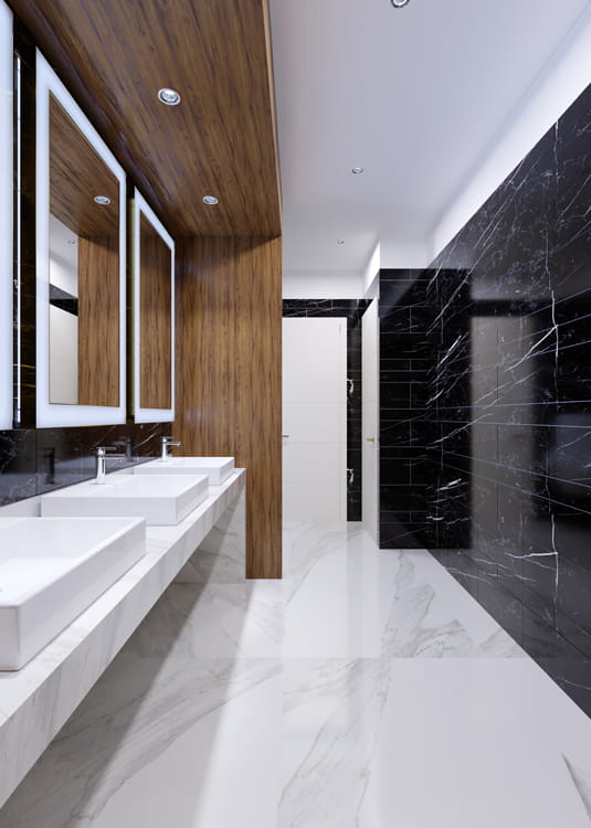 Design and Installation of Hospitality & Leisure Washrooms